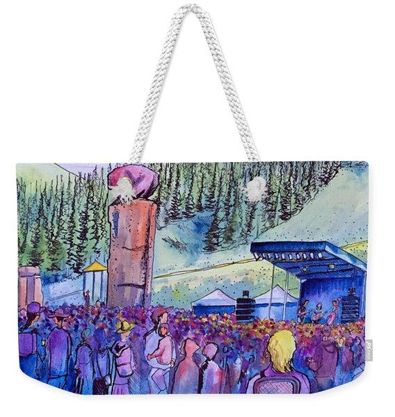 Peter Rowen At Copper Mountain Weekender Tote Bag