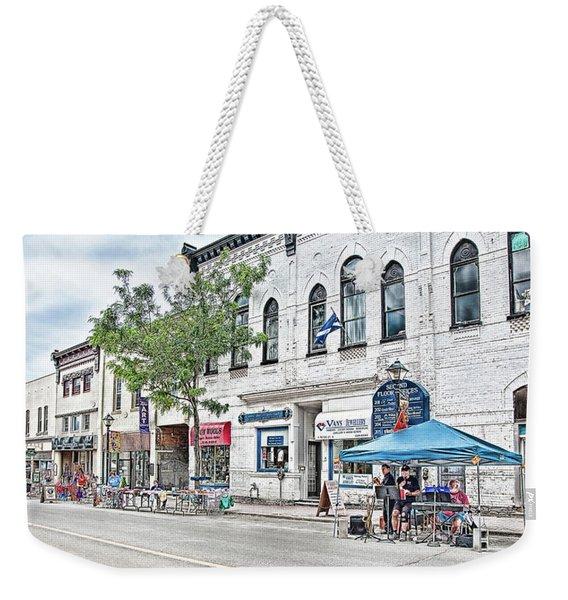 Peter Street Art Corridor Weekender Tote Bag
