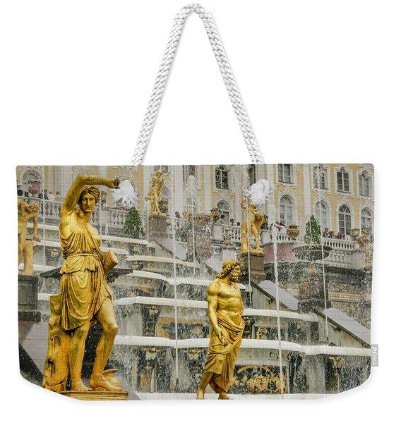 Peterhof Grand Cascade Weekender Tote Bag