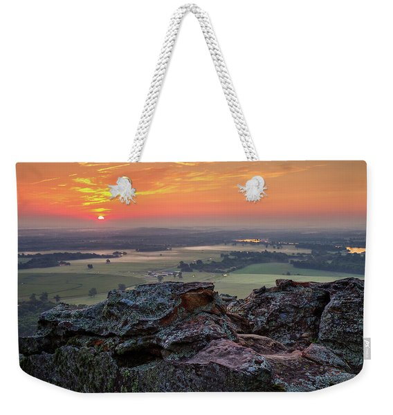 Petit Jean Sunrise Weekender Tote Bag