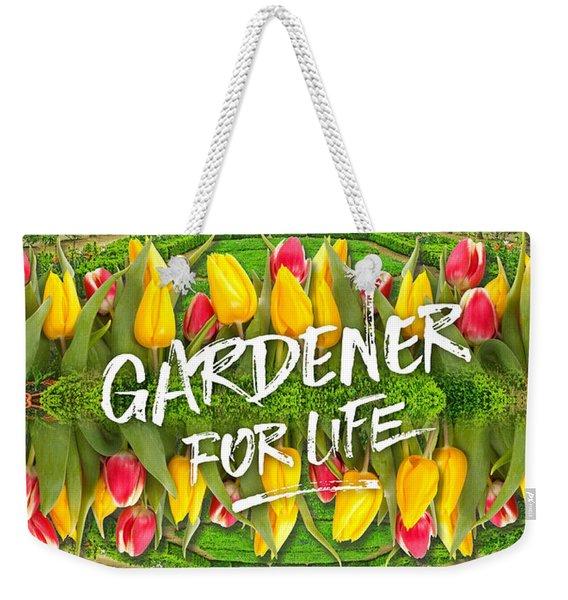 Petit Trianon Tulips Versailles Palace Gardens Paris France Weekender Tote Bag