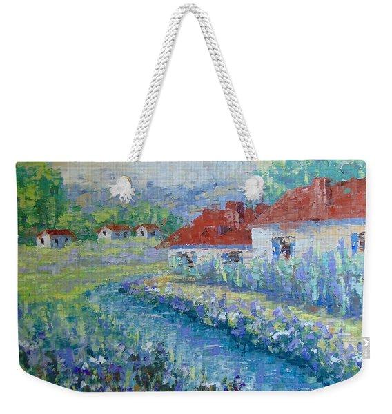 Petit Village De Provence Weekender Tote Bag