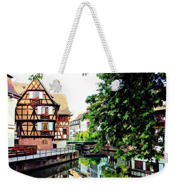 Petite France - Strassbourg, France Weekender Tote Bag