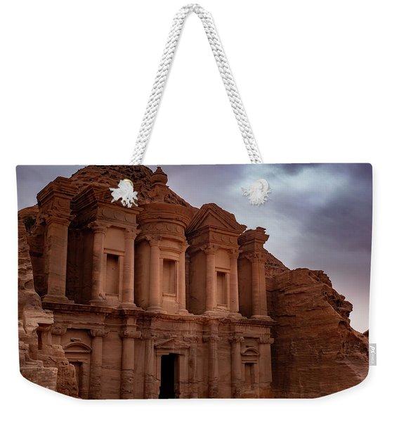 Petra's Monastery Weekender Tote Bag