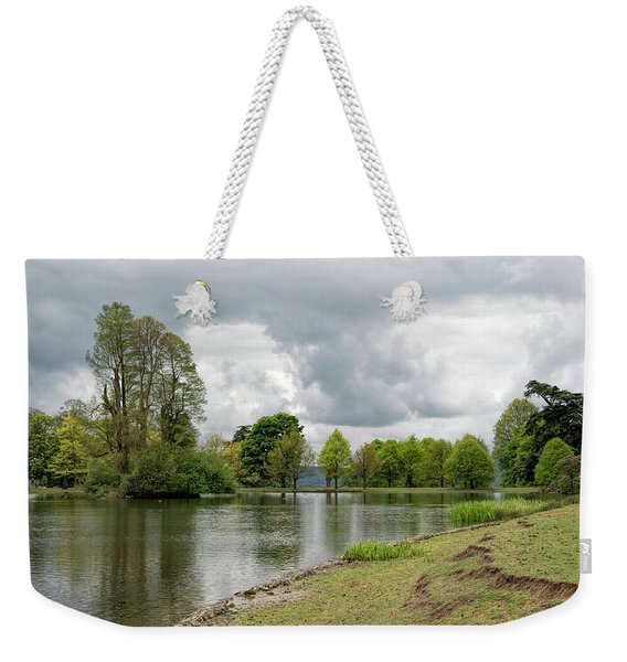 Weekender Tote Bag featuring the photograph Petworth Lake by Michael Hope