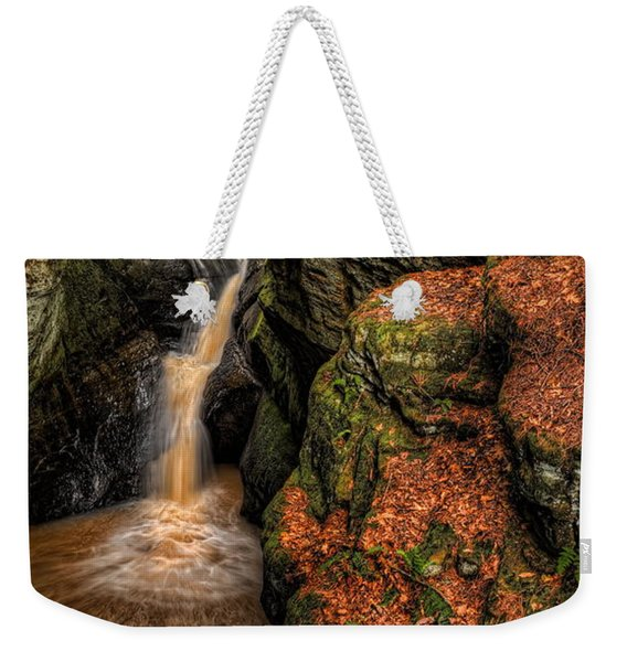 Pewits Nest Three Waterfalls Weekender Tote Bag