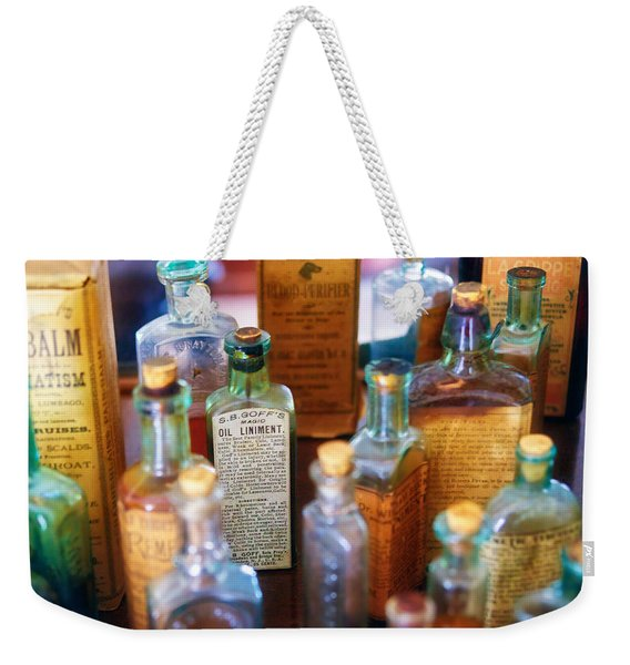 Pharmacist - Liniment And Balms Weekender Tote Bag