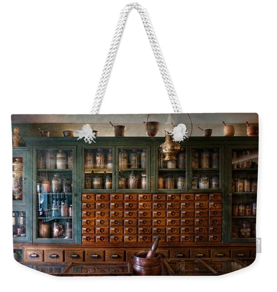 Pharmacy - Right Behind The Counter Weekender Tote Bag
