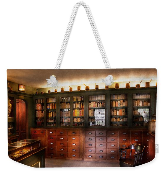 Pharmacy - The Apothecary Shop Weekender Tote Bag