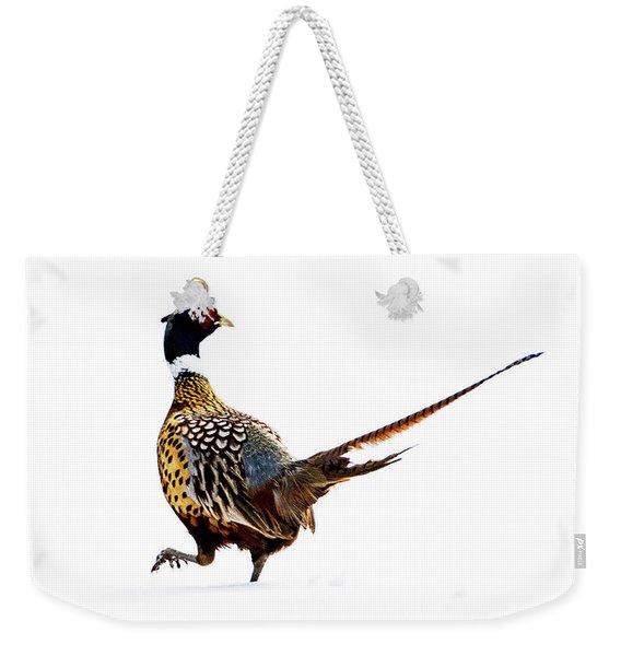 Pheasant Weekender Tote Bag