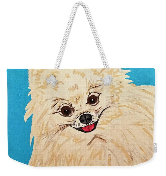 Phebe Date With Paint Nov 20th Weekender Tote Bag