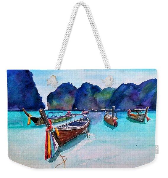 Phi Phi Island Weekender Tote Bag