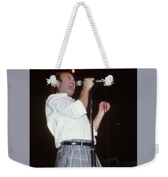 Phil Collins Weekender Tote Bag