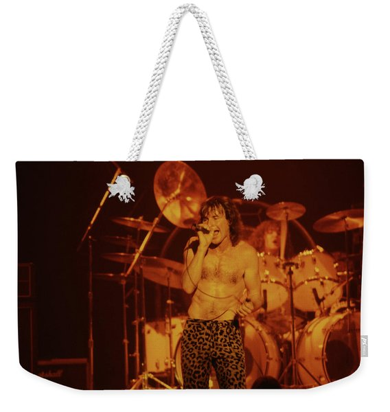 Phil Mogg Of Ufo Weekender Tote Bag