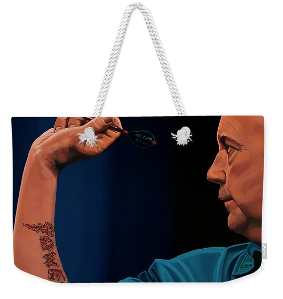 Phil Taylor The Power Weekender Tote Bag