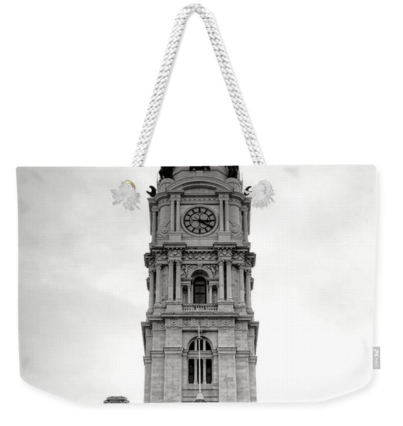 Philadelphia City Hall Tower Weekender Tote Bag