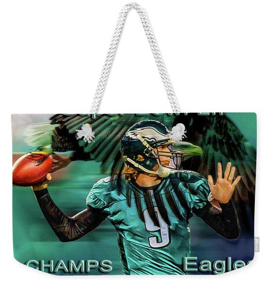 Philadelphia Eagles - Super Bowl Champs Weekender Tote Bag