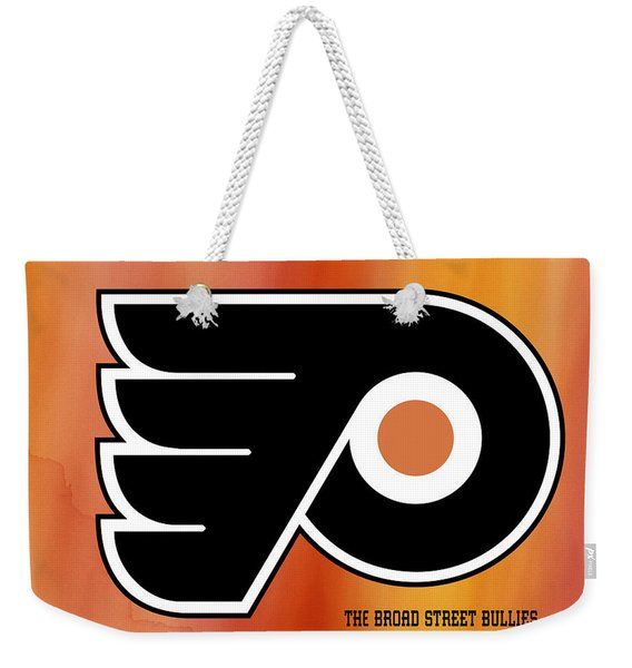 Philadelphia Flyers Hockey Club Weekender Tote Bag