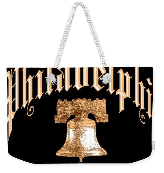 Philadelphia Pennsylvania Design Weekender Tote Bag