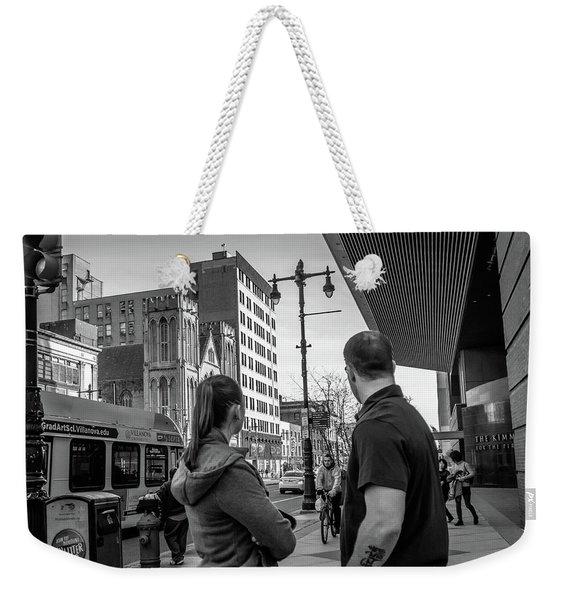 Philadelphia Street Photography - Dsc00248 Weekender Tote Bag