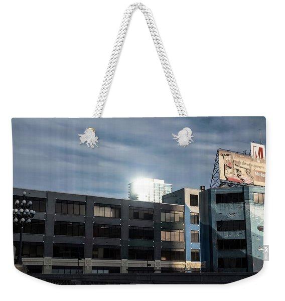 Philadelphia Urban Landscape - 1195 Weekender Tote Bag