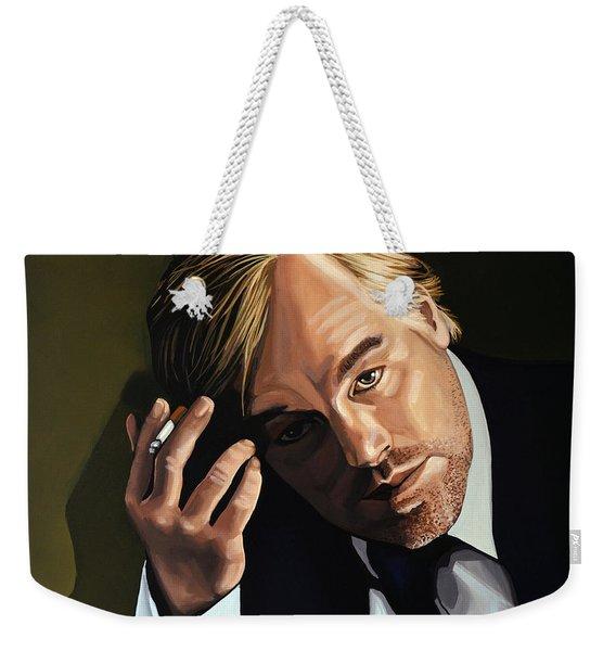 Philip Seymour Hoffman Weekender Tote Bag