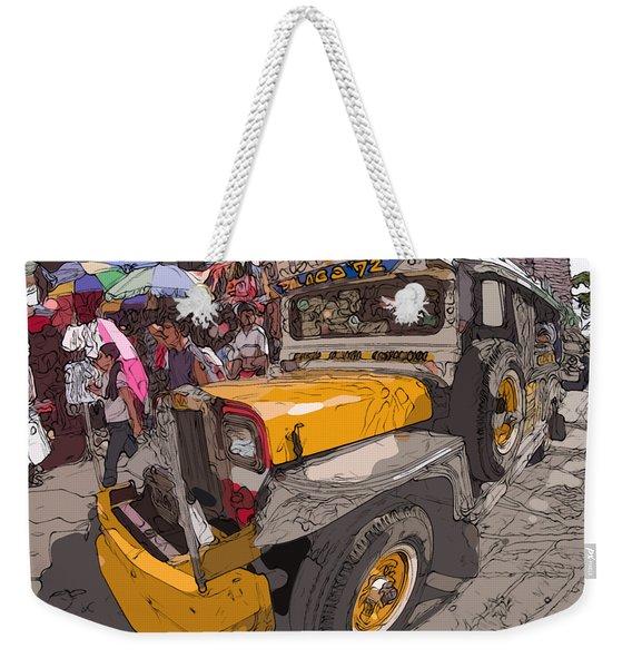 Philippines 1261 Jeepney Weekender Tote Bag