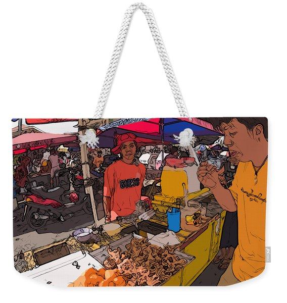 Philippines 1299 Street Food Weekender Tote Bag