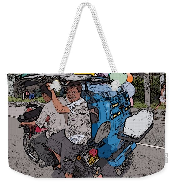 Philippines 2762 Party Supplies Weekender Tote Bag
