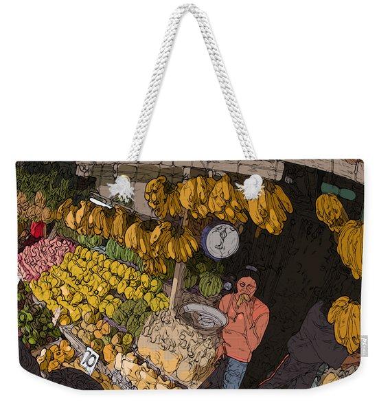 Philippines 3575 Saging Sales Lady Weekender Tote Bag