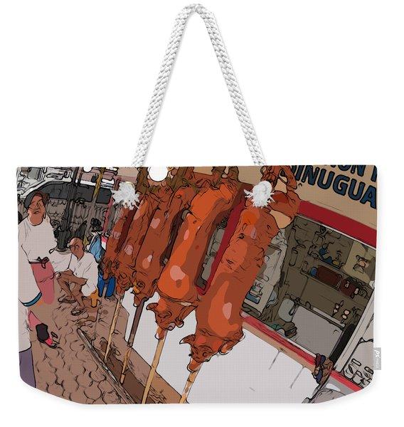 Philippines 4057 Lechon Weekender Tote Bag
