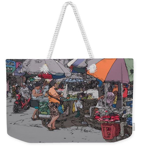 Philippines 708 Market Weekender Tote Bag