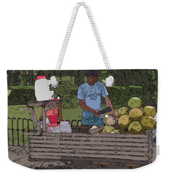 Philippines 936 Buko Weekender Tote Bag
