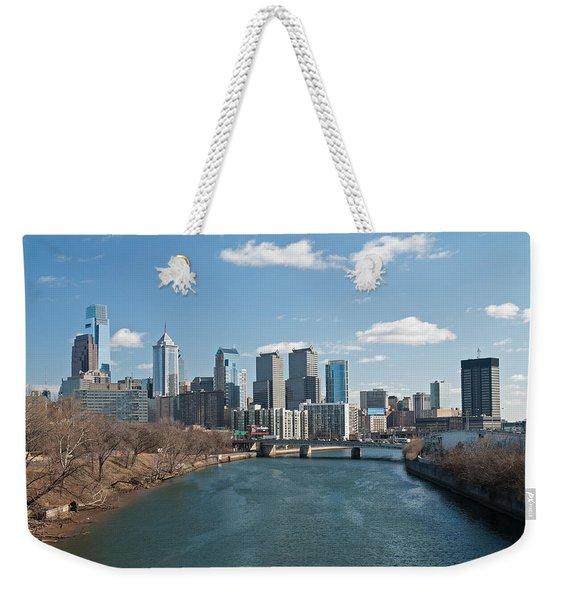 Philly Winter Weekender Tote Bag