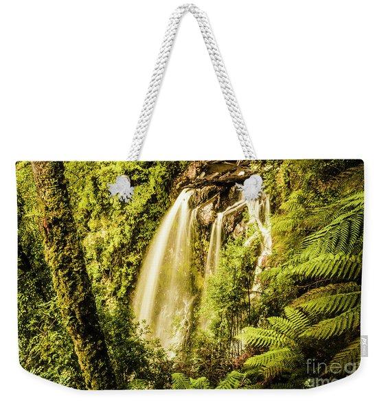 Philosopher Falls, Western Tasmania Weekender Tote Bag