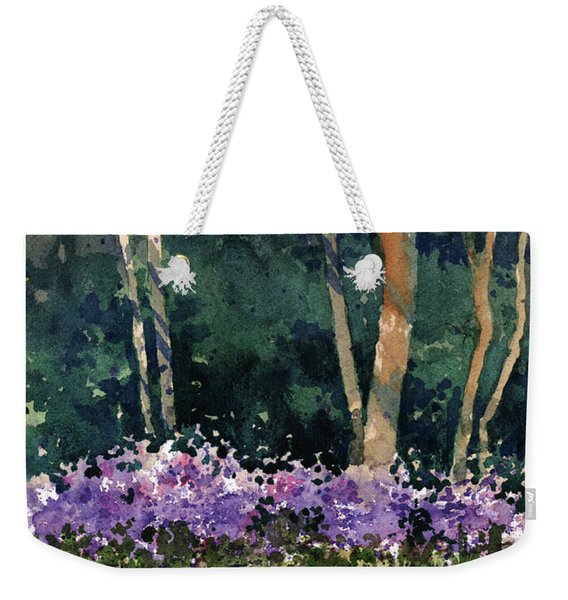 Phlox Meadow, Harrington State Park Weekender Tote Bag