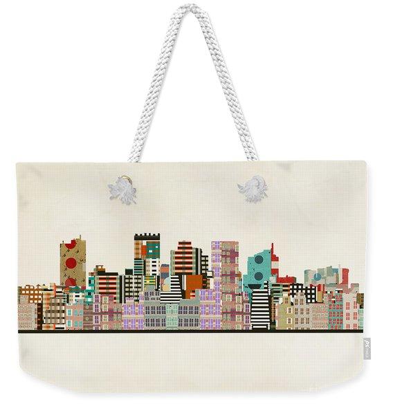Phoenix Arizona Skyline Weekender Tote Bag