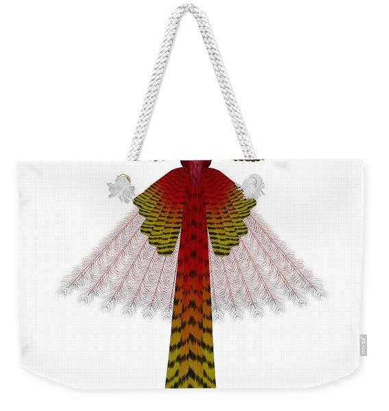 Phoenix Firebird Weekender Tote Bag