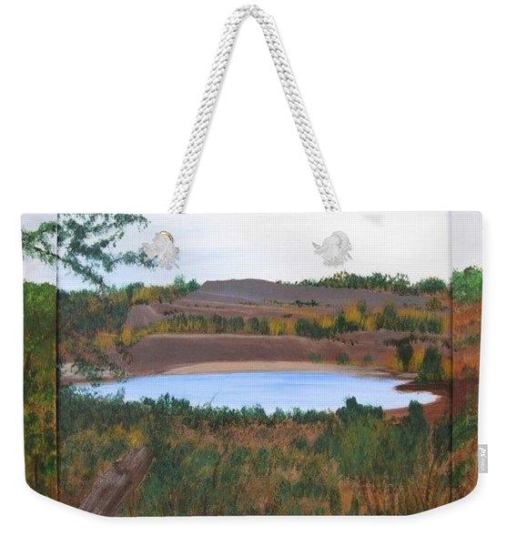 Phoenix Lake Weekender Tote Bag