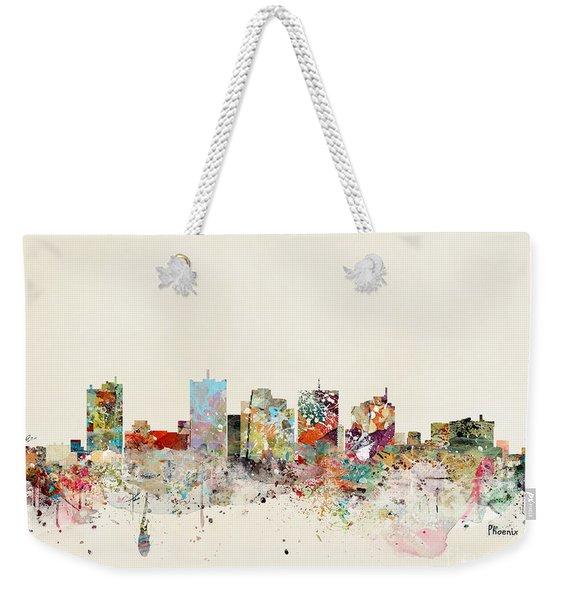 Phoenix Skyline Weekender Tote Bag