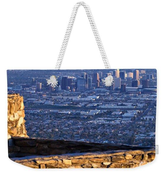 Phoenix Sunrise Weekender Tote Bag