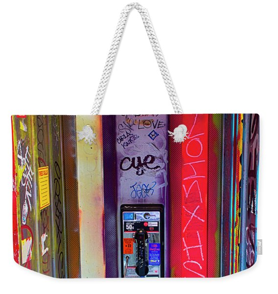 Phone Graffiti Series 5 Weekender Tote Bag