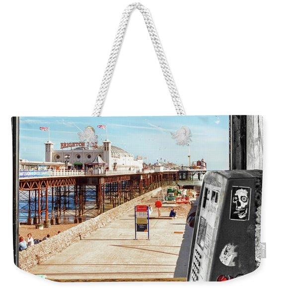 Phone Home Weekender Tote Bag
