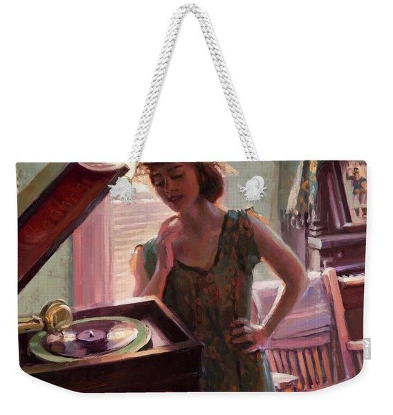Phonograph Days Weekender Tote Bag
