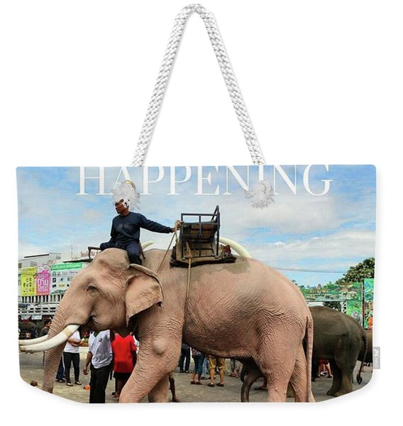 Weekender Tote Bag featuring the photograph #photoadventure #travel #thailand by Mr Photojimsf