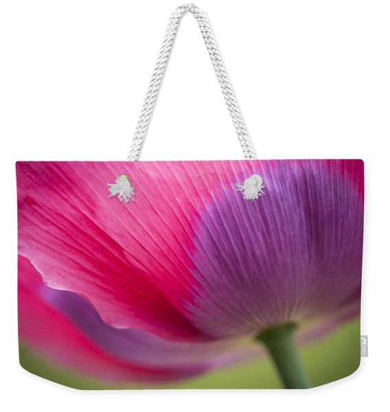 Poppy Close Up Weekender Tote Bag