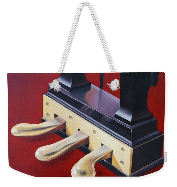 Piano Pedals Weekender Tote Bag