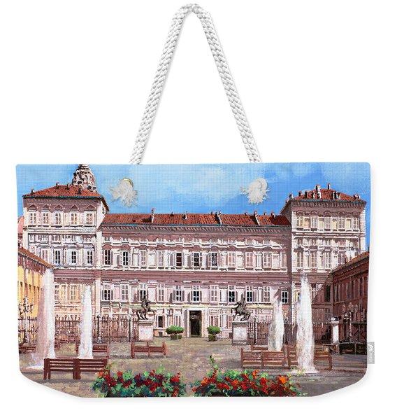 piazza Castello Weekender Tote Bag