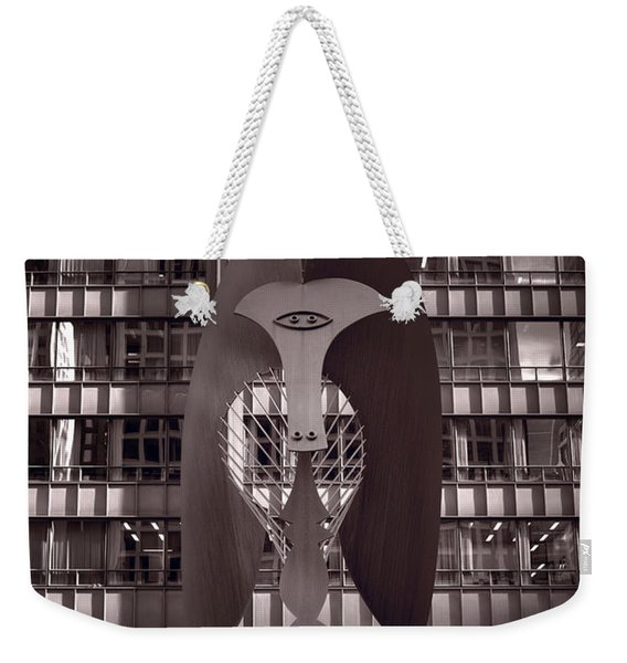 Picasso Chicago Bw Weekender Tote Bag