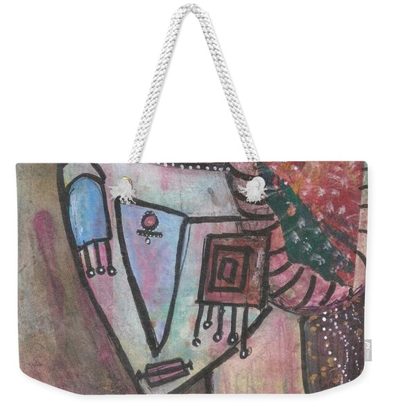Picasso Inspired Weekender Tote Bag